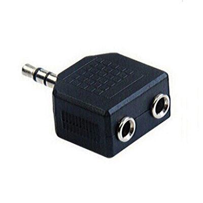 Adaptor Jack 3.5 T - 2 x 3.5 M