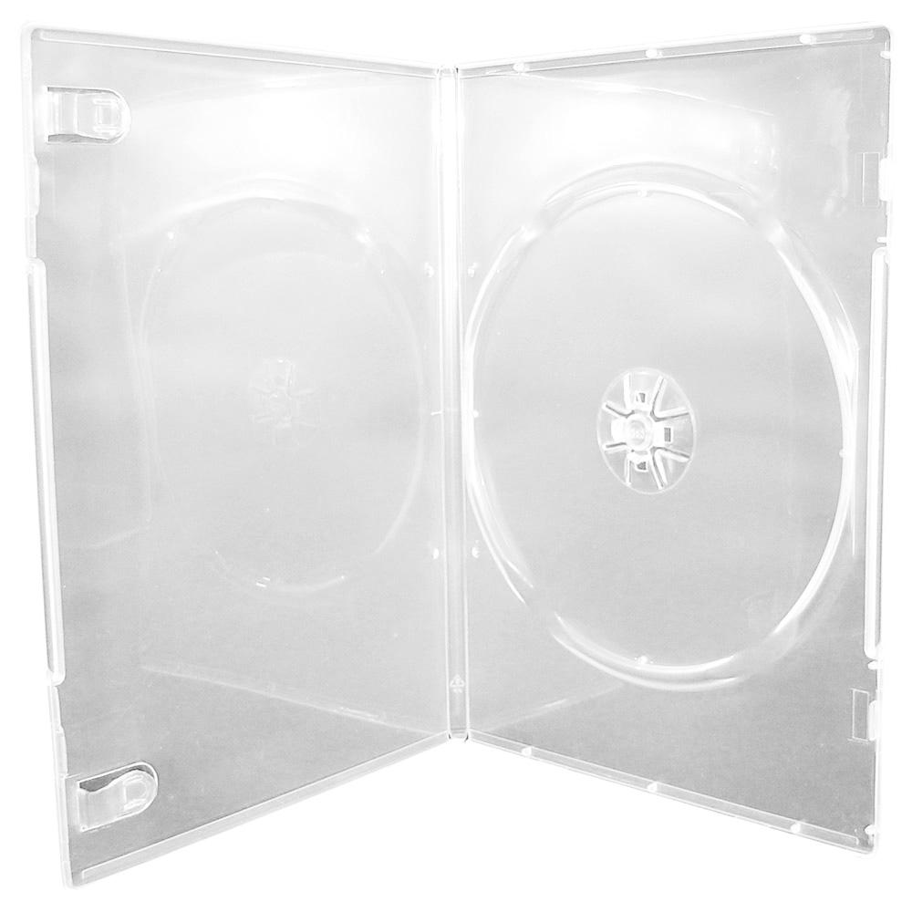 Carcasa DVD Semi Transparent