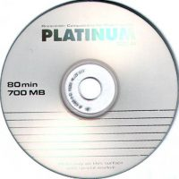 CD-R Platinum 700MB