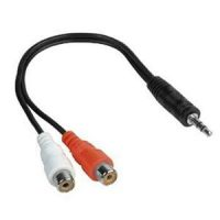 Cablu Audio 2 X RCA M - 1 X Jack T Cable-406