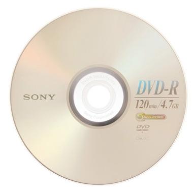 DVD-R Sony 4.7GB