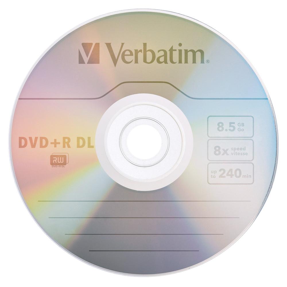 DVD+R DL Verbatim 8.5GB