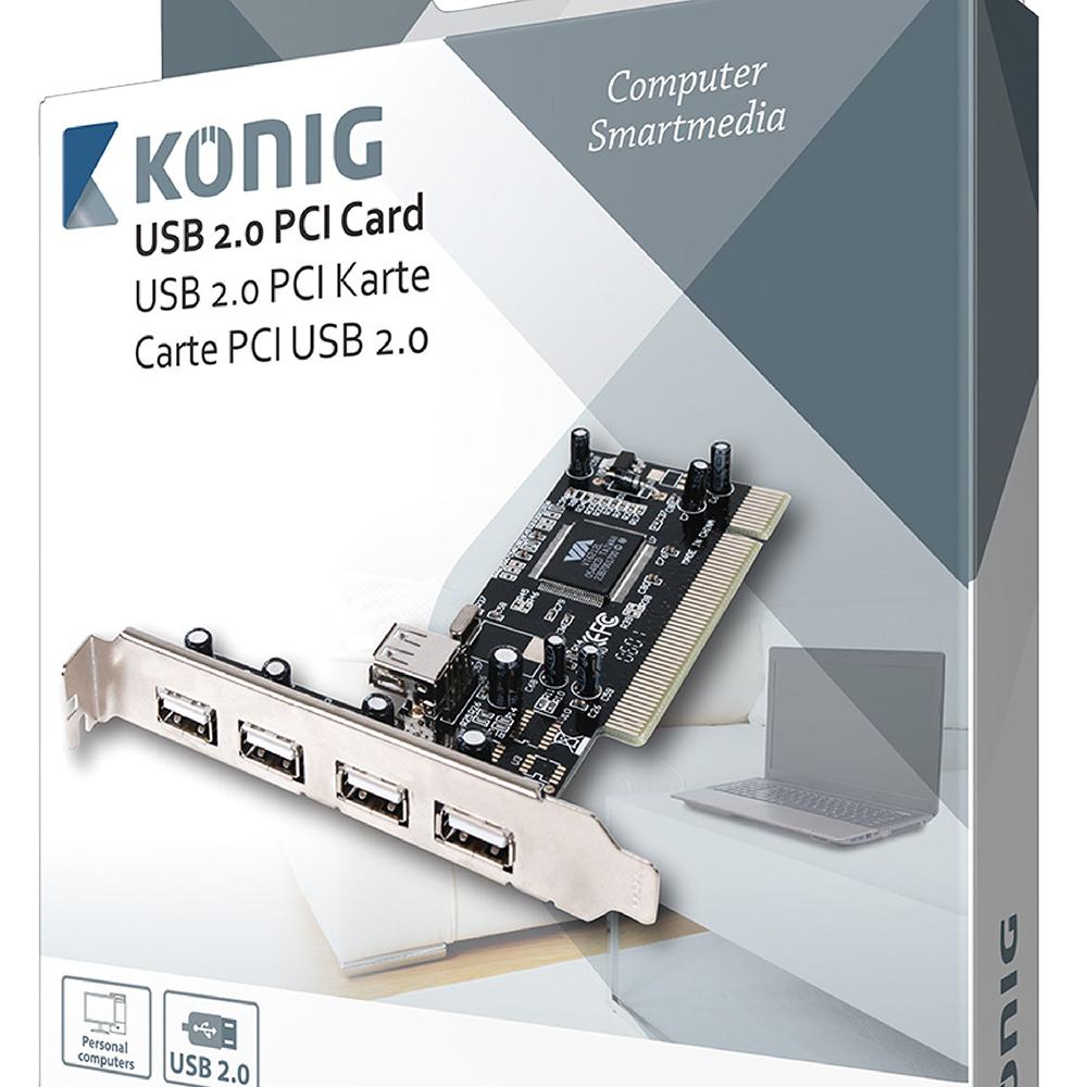 Konig USB 2.0 PCI