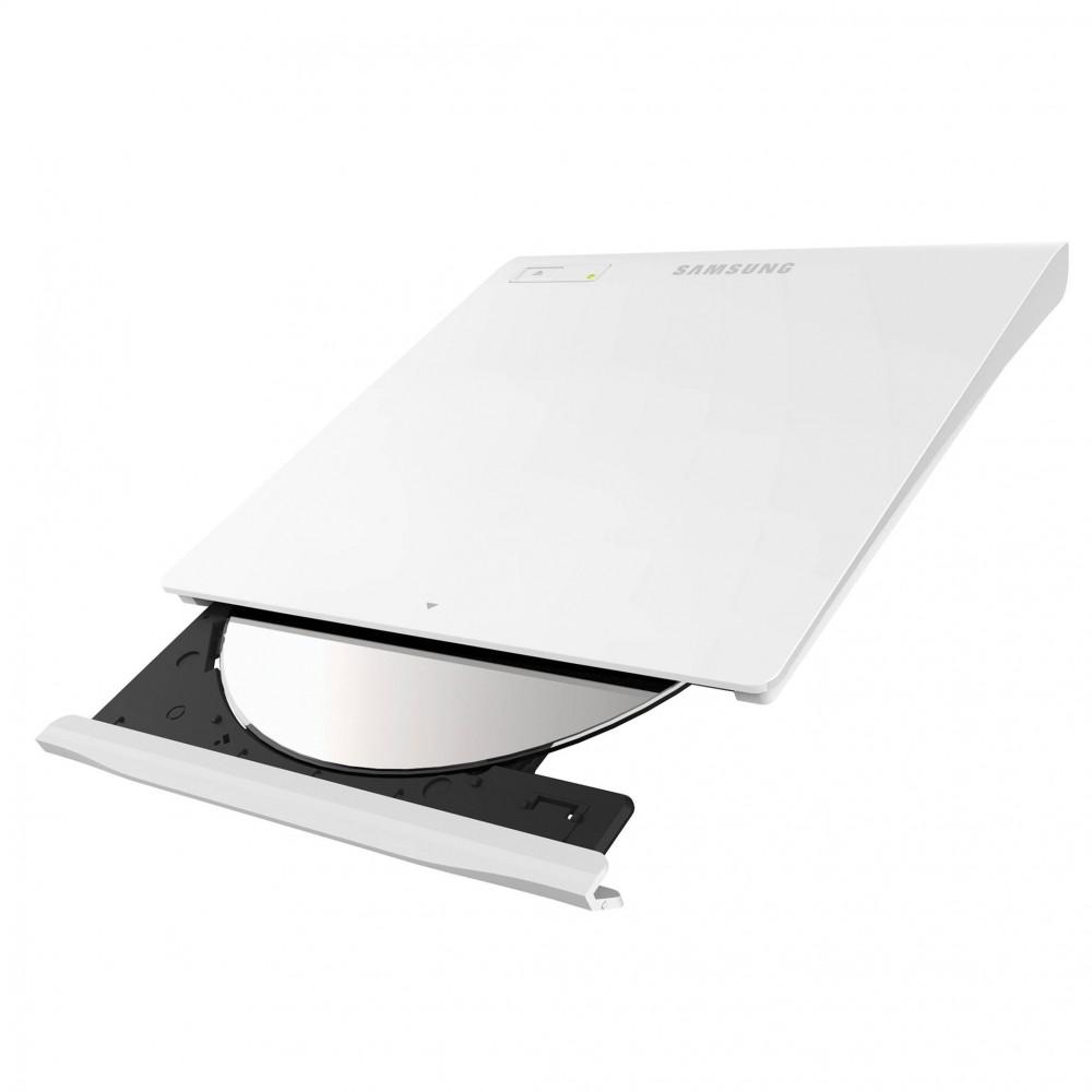 DVD Writer extern Samsung SE-208GBRSWD, 8x, USB 2.0, Alb, Retail