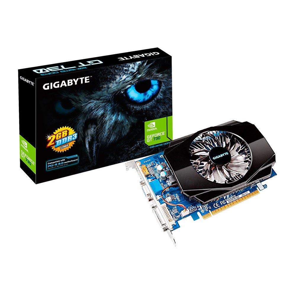 Gigabyte Geforce GT730 2GB DDR3 128BIT N730-2GI