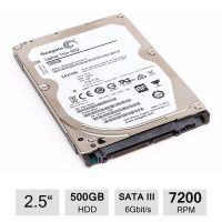 Hard disk Laptop Seagate, 500GB, 7200RPM, 32MB, SATA-III