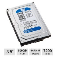 Hard Disk Desktop Western Digital 500GB SATA3 32MB 7200RPM