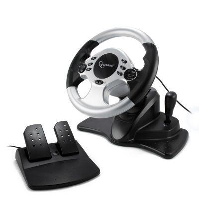 Volan Gembrid STR-SHOCKFORCE, pedale, vibratii, USB