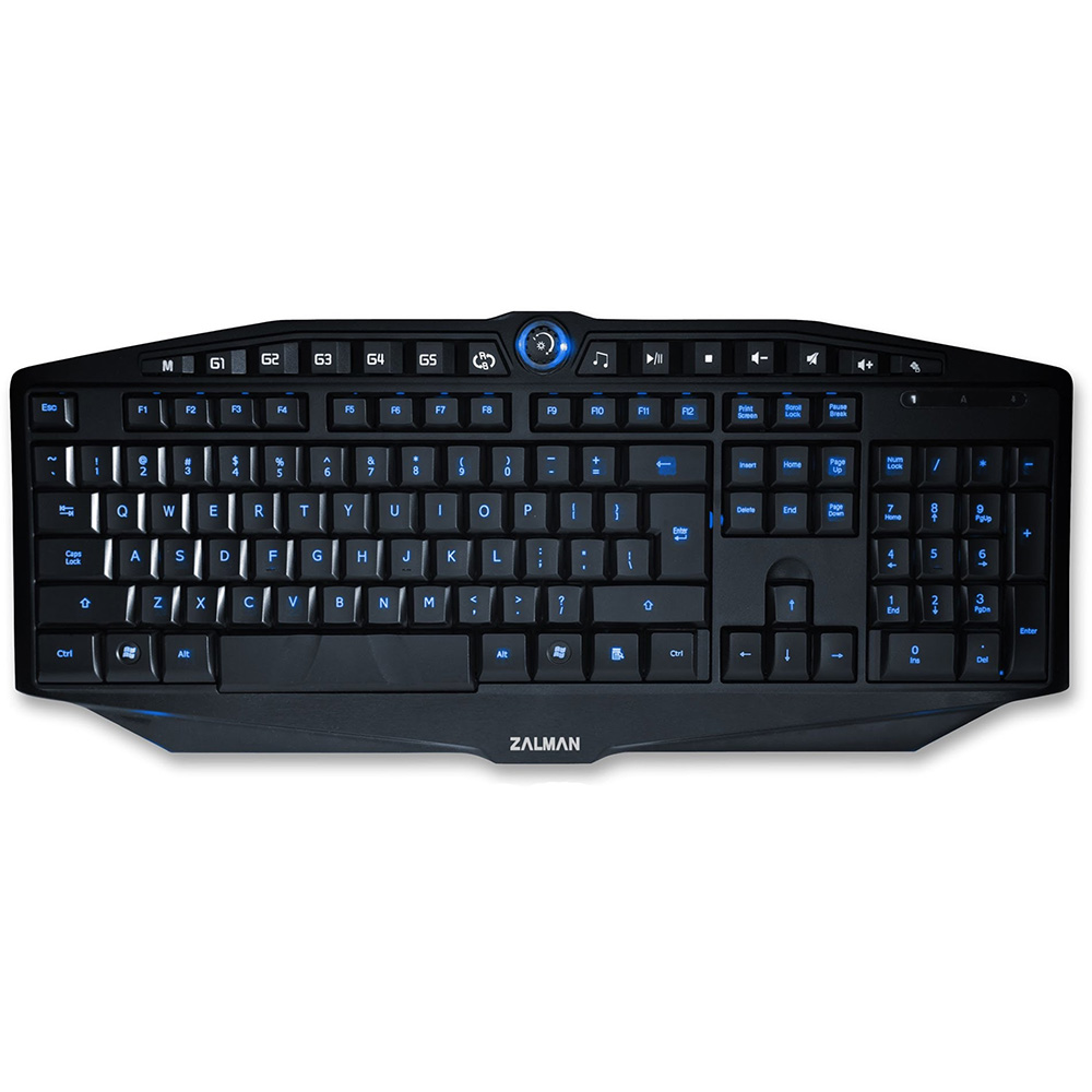 Keyboard Zalman ZM-K400G Gaming Illuminated