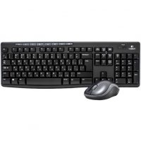 Kit Logitech Wireless Desktop MK270, Negru