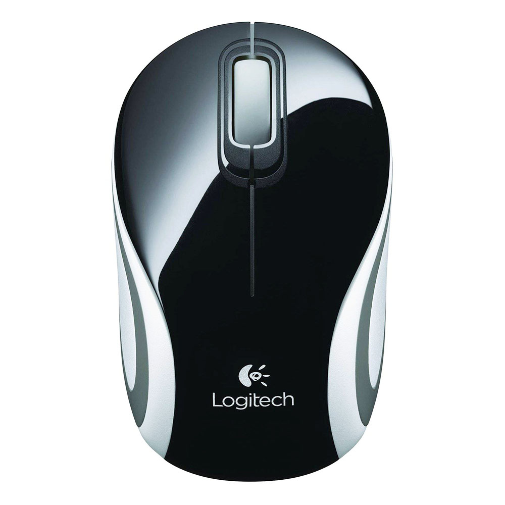 Mouse Wireless Logitech M187, USB, Negru