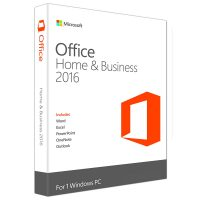 Microsoft Office Home and Business, 32-bit/x64, English/Romana EuroZone Medialess