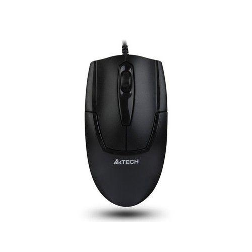 Mouse A4Tech OP-540NU-1, V-track padless, USB, negru