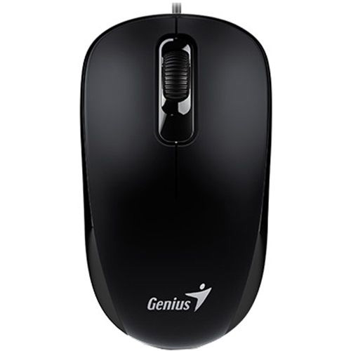 Mouse Optic Genius DX-110, USB, Negru