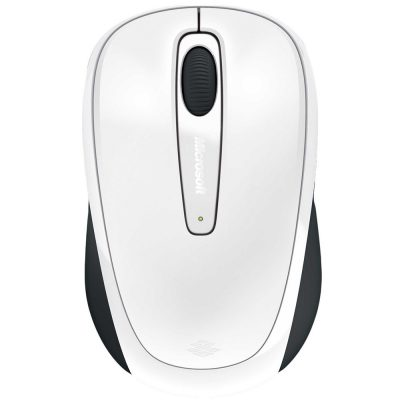 Mouse Wireless Microsoft 3500, Alb