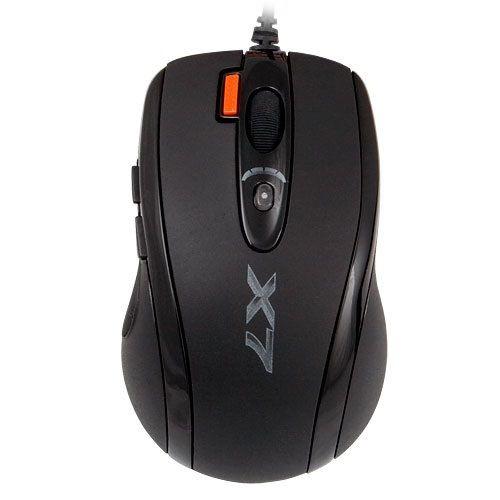Mouse optic A4Tech Oscar X-710MK, USB, Negru