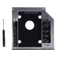 Adaptor caddy, laptop 9.5 mm interfata HDD-Sata
