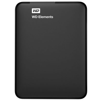 HDD extern WD Elements Portable, 1TB, 2.5, USB 3.0, Black