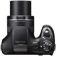 Aparat Foto Digital Sony Cyber-Shot DSC-H300, 20.1MP, Black, Cadou Card SD 8GB, Incarcator + Case Sony