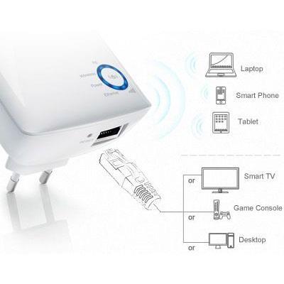 Range Extender Wireless N 300Mbps TP-LINK TL-WA850RE