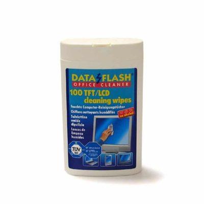 Servetele Curatare Monitor Dataflash DF-1522, 100/set Umede