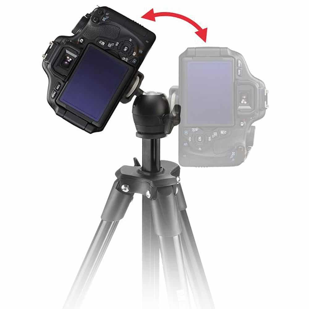 Trepied Foto/ Video Manfrotto Compact Light (39 -131 cm)