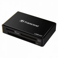 Card Reader USB 3.0 Transcend TS-RDF8K All-in-1, Negru