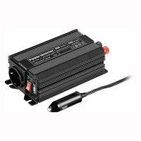 Inverter Goobay 67922, 300W, DC/AC 12V - 230V, Negru