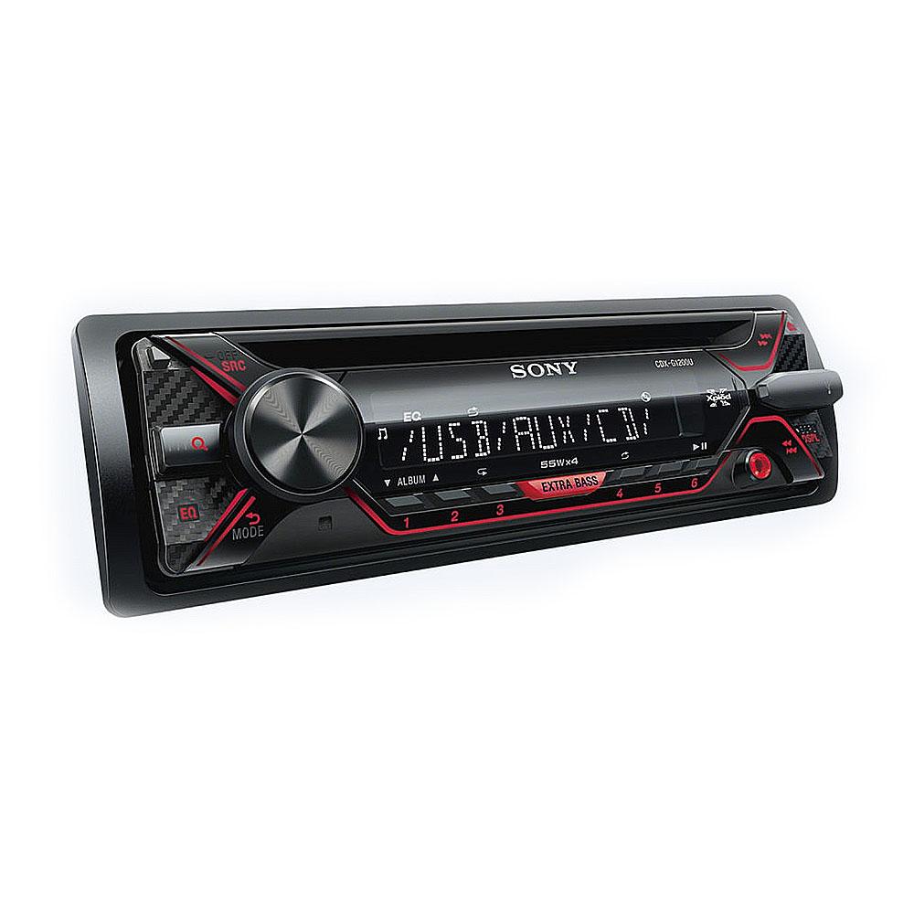 Radio MP3 Player auto Sony CDX-G1200, 4 x 55 W, USB, AUX