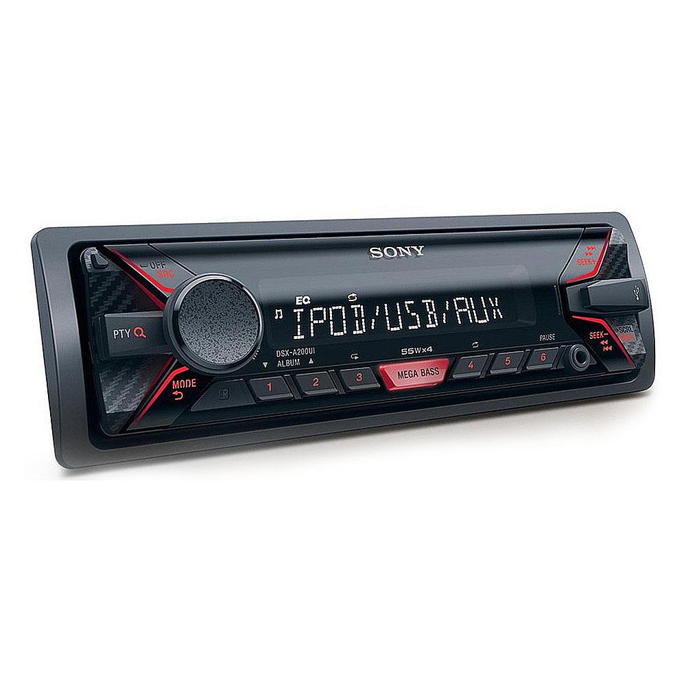 Radio MP3 Player auto Sony DSXA200UI, 4 x 55 W, USB, AUX