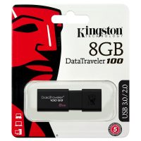 Flash Drive Kingston DT100 G3, 8GB, USB3.0