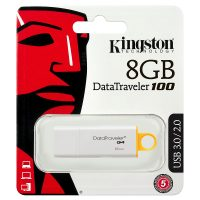 Flash Drive Kingston DT100 G4, 8GB, USB3.0