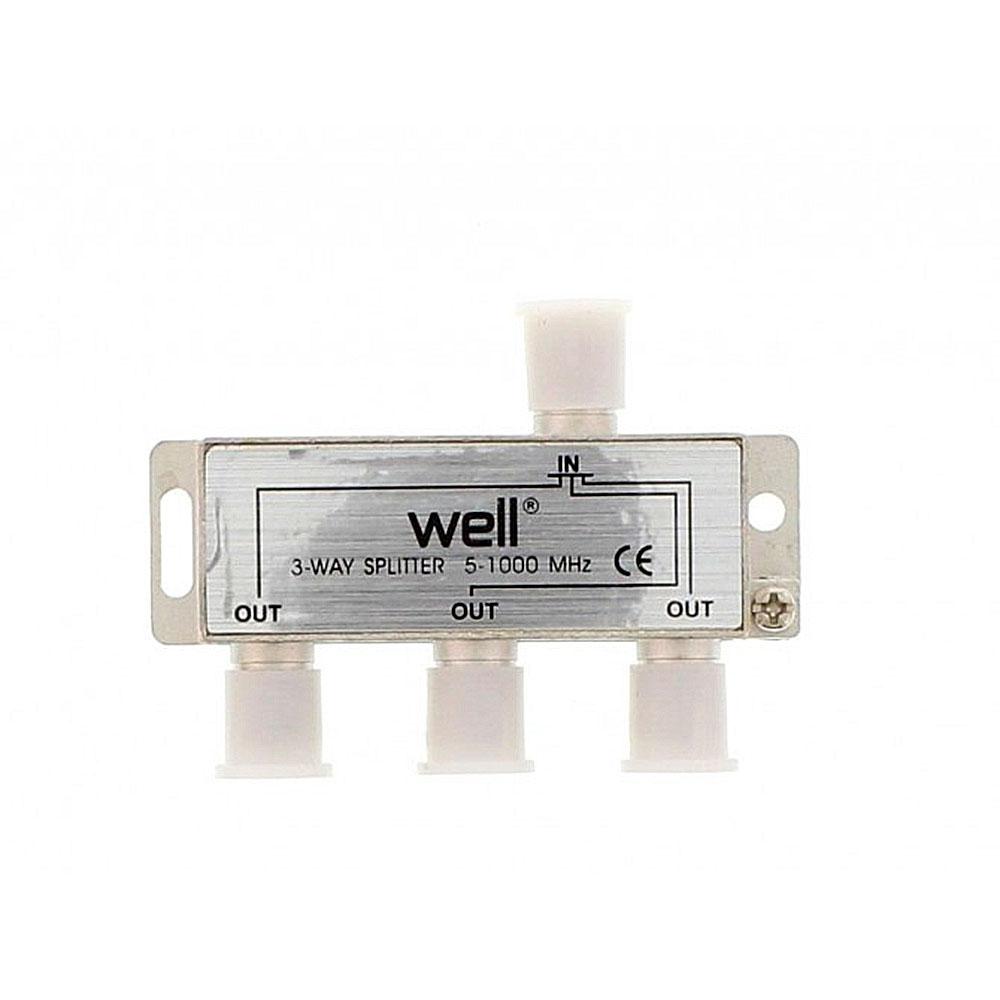 Spliter 3 Cai Pentru Retea CATV Well, 1000 Mhz