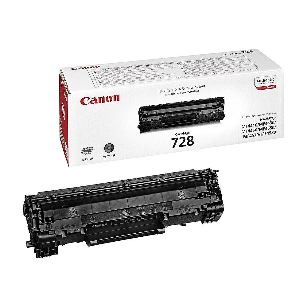 Toner Canon CRG-728, Negru, Original
