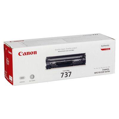 Toner Canon CRG-737, Negru, Original