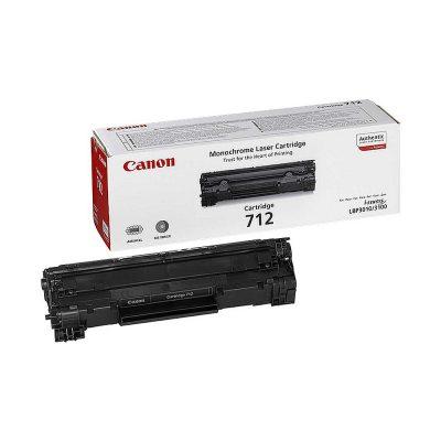 Toner Canon CRG-712, Negru, Original