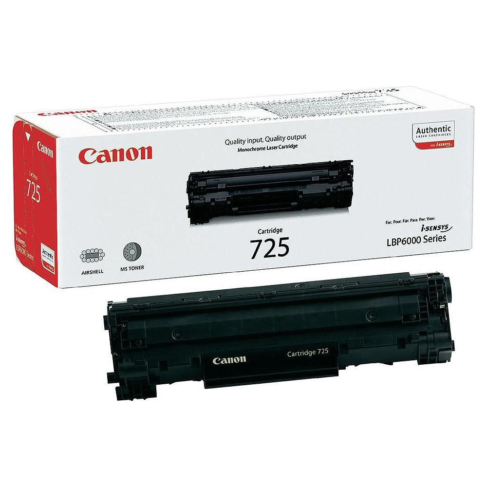 Toner Canon CRG-725, Negru, Original