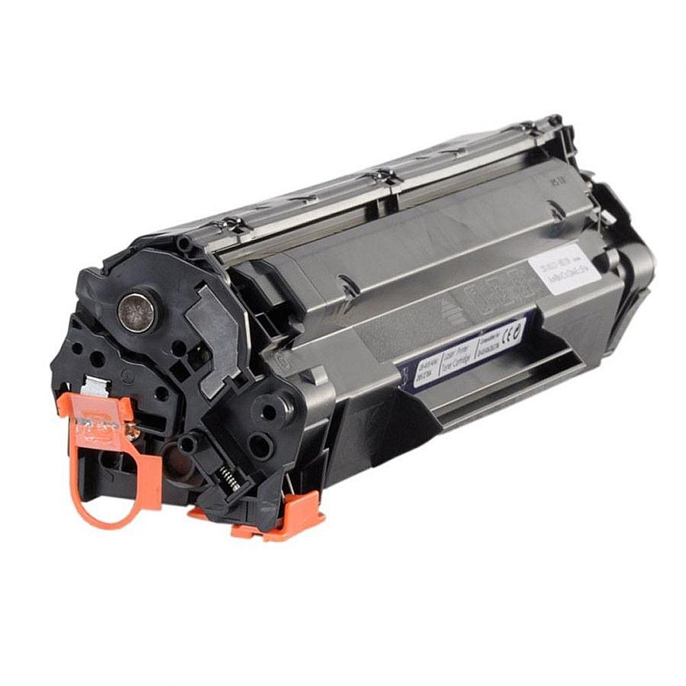 Toner HP 35A/36A, Negru, Compatibil