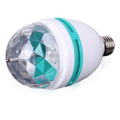 Bec Rotativ RGB, LED, 3W