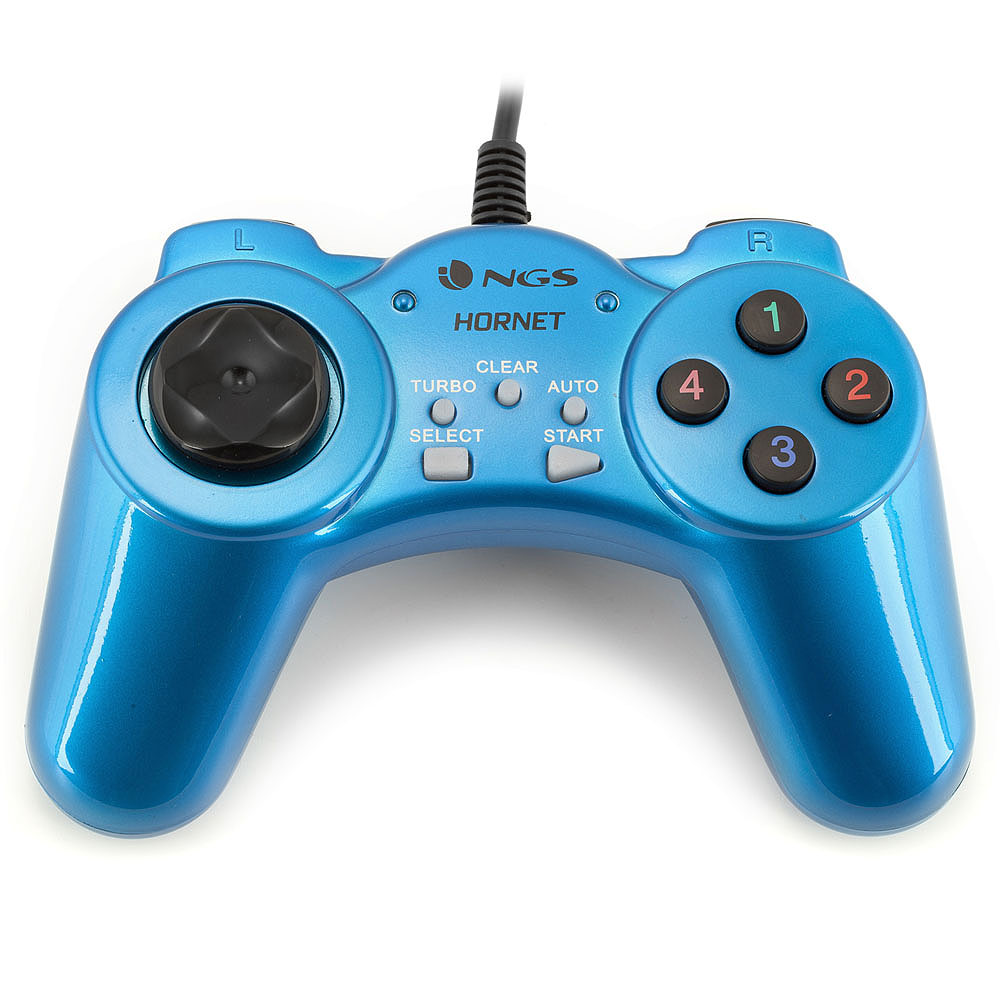 Gamepad NGS Hornet 10 Butoane, Albastru