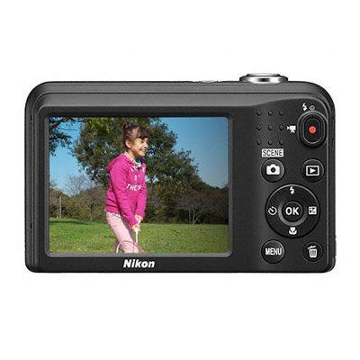 Aparat Foto Digital Nikon Coolpix A10, 16.1MP, Negru