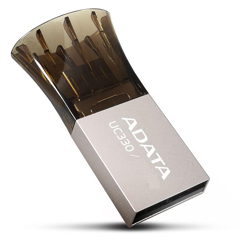 Flash Drive Adata AUC330, 8GB, USB2.0 - OTG