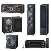 Pachet PSC - Denon 5.2 AVRX1300,Magnat Monitor Supreme 1002, 202, 252, 302A, Negru