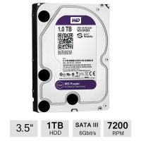 Hard Disk Survillance Western Digital WD10PURX 1TB SATA 64MB Purple