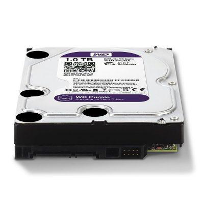 Hard Disk Survillance Western Digital WD10PURX 1TB SATA 64MB Purple