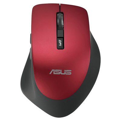 Mouse optic ASUS WT425, 1600 dpi, USB, Rosu