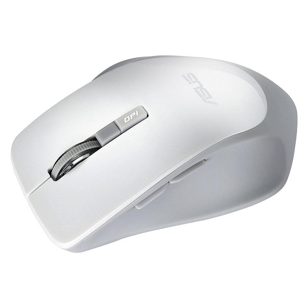Mouse Optic ASUS WT425, 1600 dpi, USB, Alb