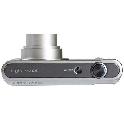 Aparat Foto Digital Sony DSC-W800, 20MP, Silver
