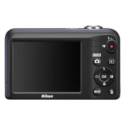 Aparat Foto Digital Nikon Coolpix A10, 16.1MP, Rosu, Cadou Card Memorie SD Kingston 8GB