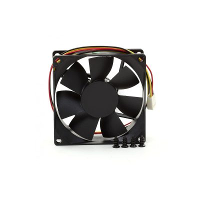 Cooler Titan TFD-8025M12Z, 80MM, Negru